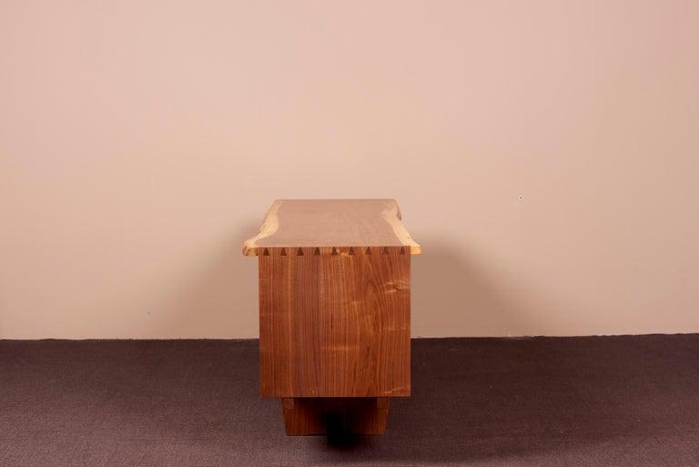 George Nakashima Studio Credenza in Walnut, US 2021 For Sale 9
