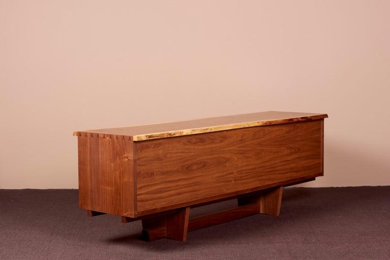 George Nakashima Studio Credenza in Walnut, US 2021 For Sale 10
