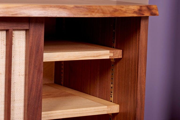 Wood George Nakashima Studio Credenza in Walnut, US 2021 For Sale