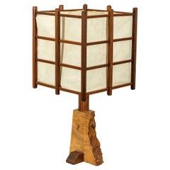 George Nakashima Table Lamp