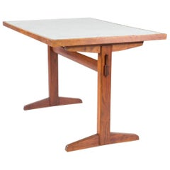 George Nakashima Table with Laminate Top