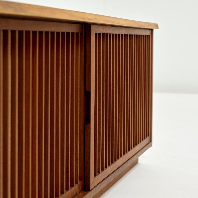 Mid-Century Modern George Nakashima Two-Door Walnut Cabinet, 1960s