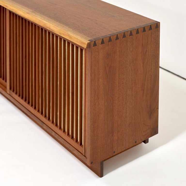 American George Nakashima Two-Door Walnut Cabinet, 1960s