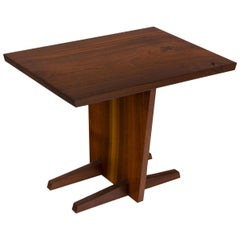 George Nakashima Walnut Minguren Side Table, USA, 1960s