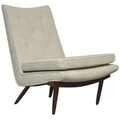 George Nakashima Walnut Slipper Chair