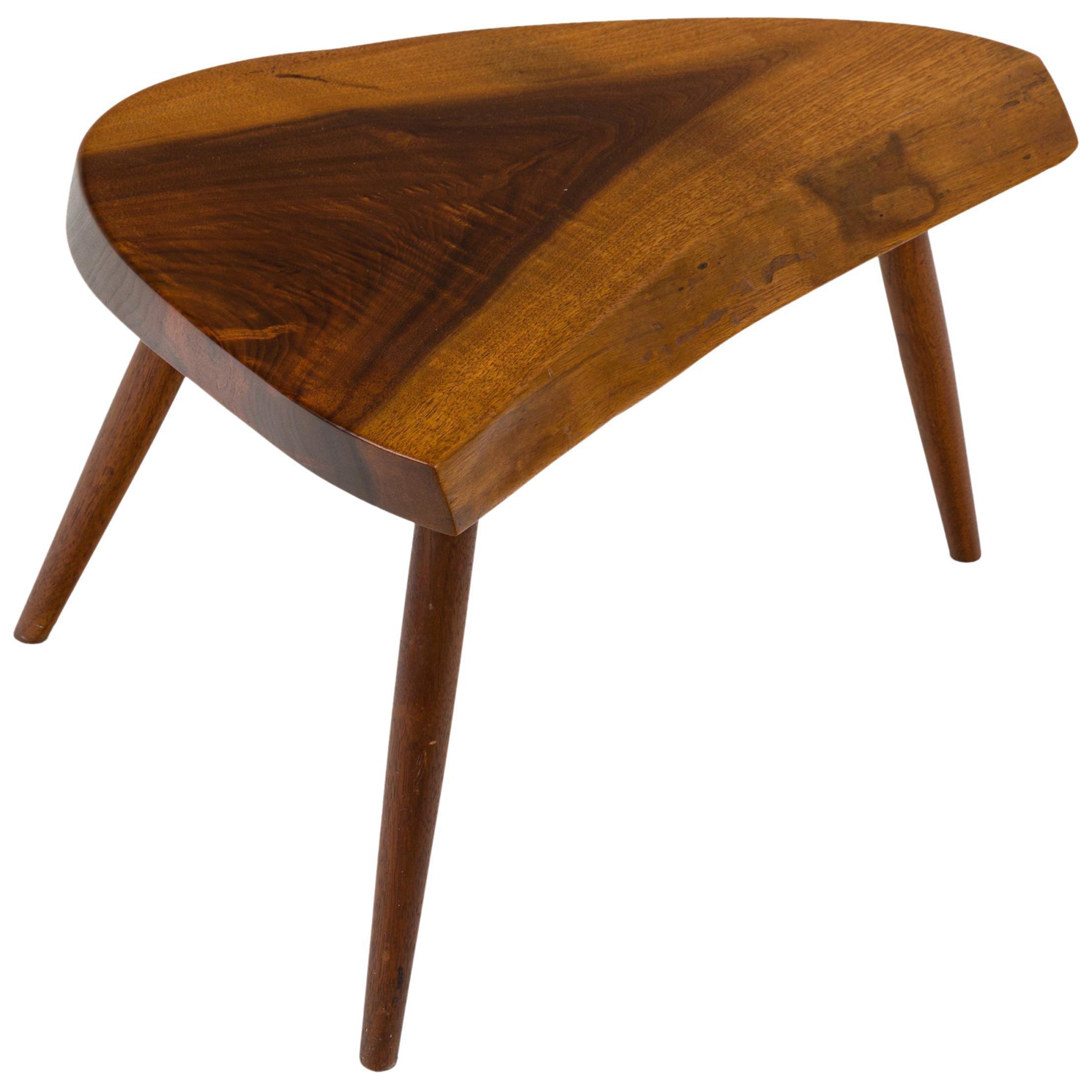 George Nakashima Wepman Walnut Occasional Table, USA, 1960s