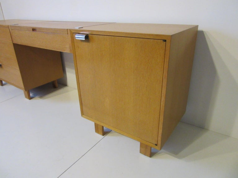 American George Nelson 3-Piece Vanity Chest for Herman Miller For Sale