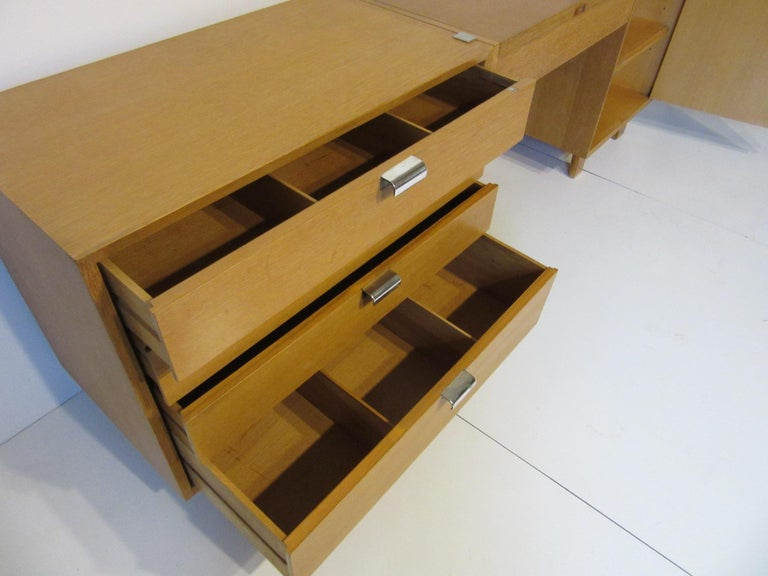 George Nelson 3-Piece Vanity Chest for Herman Miller In Good Condition For Sale In Cincinnati, OH