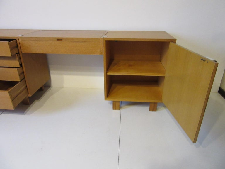 20th Century George Nelson 3-Piece Vanity Chest for Herman Miller For Sale
