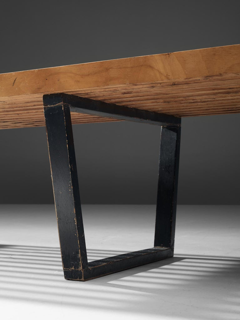 George Nelson & Associates Large '4492' Bench in Birch For Sale 1