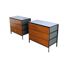 George Nelson & Associates Steel Frame Chests for Herman Miller, circa 1955