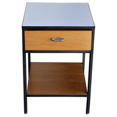 George Nelson & Associates Steel Frame Nightstand for Herman Miller, circa 1955