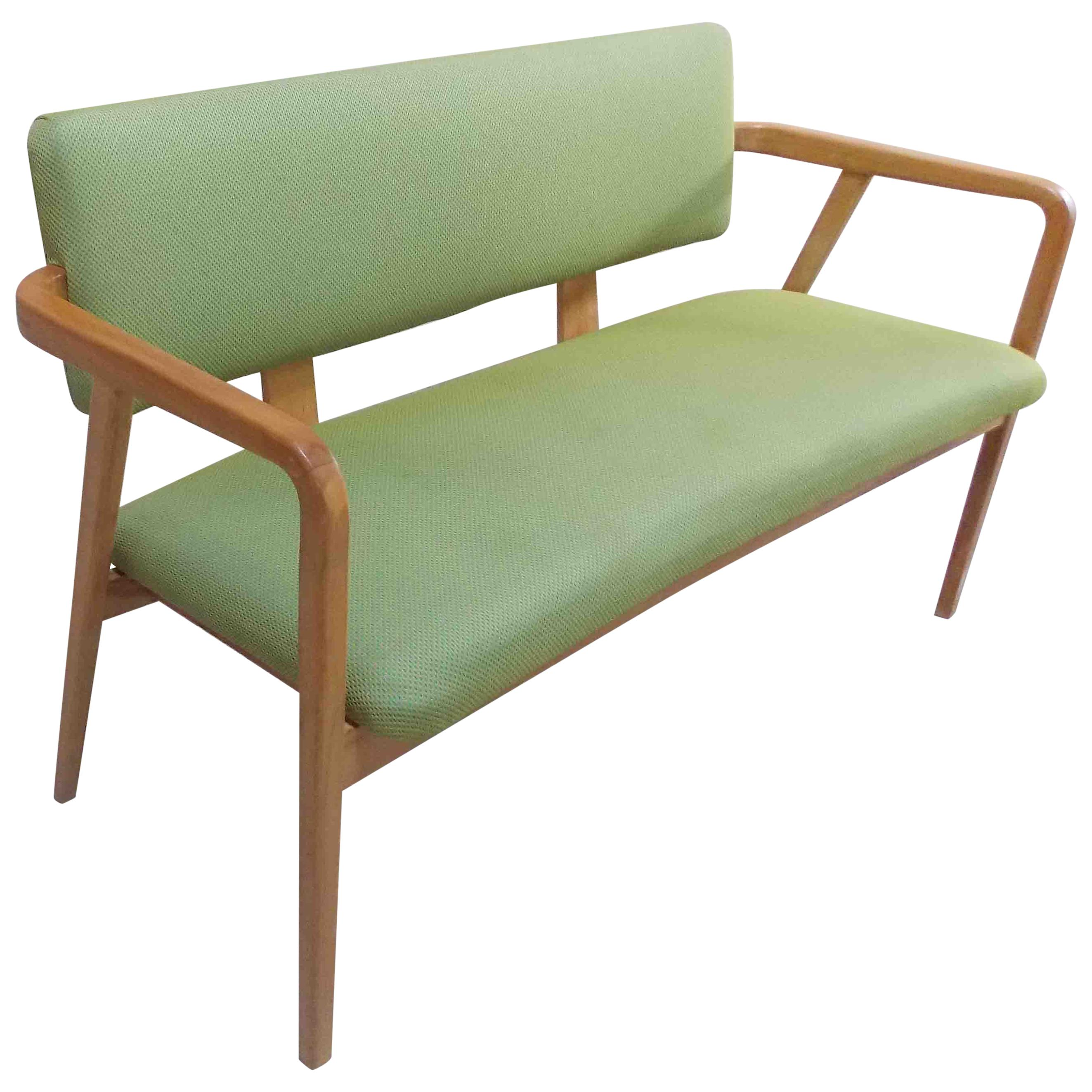 George Nelson Bentwood Settee