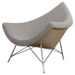 George Nelson Coconut Chair in Alexander Girard Minicheck