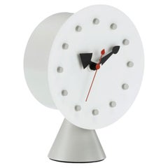 George Nelson Cone Base Table Clock by Vitra