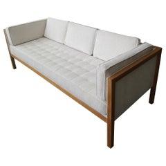 George Nelson Cube Group Oak Frame Sofa