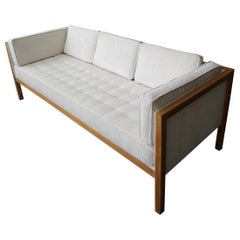George Nelson Cube Group Oak Frame Sofa