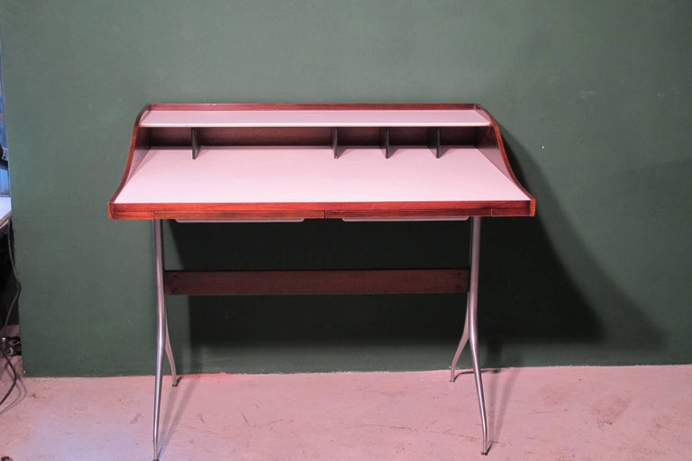 American George Nelson Design, Desk 1958, Produced by Herman Miller For Sale