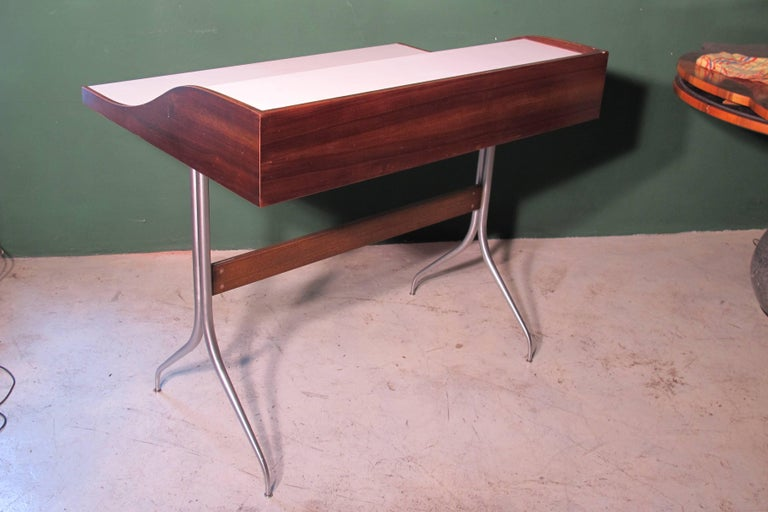 George Nelson Design, Desk 1958, Produced by Herman Miller In Good Condition For Sale In Verona, IT