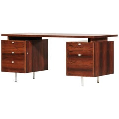 George Nelson Desk in Rosewood, 1960s
