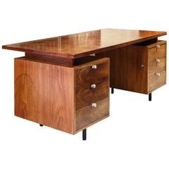 George Nelson Desk in Rosewood from Herman Miller 1960s United States