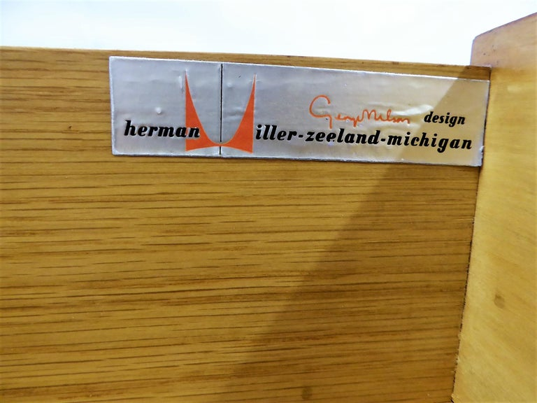 George Nelson Dresser Credenza for the Herman Miller Collection, 1950s For Sale 6