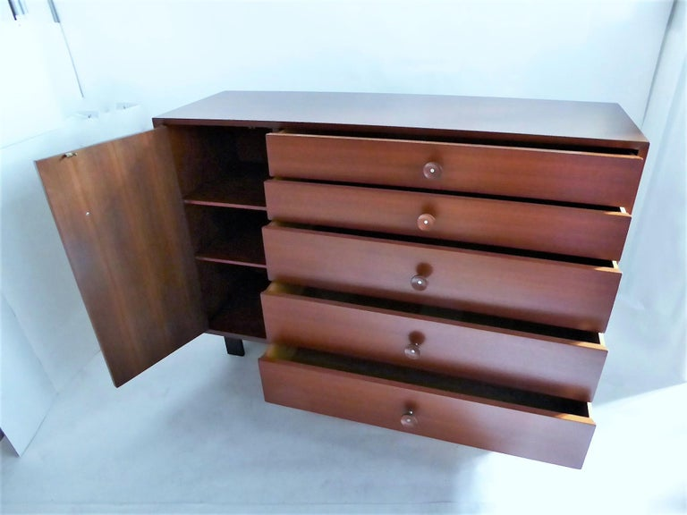 American George Nelson Dresser Credenza for the Herman Miller Collection, 1950s For Sale
