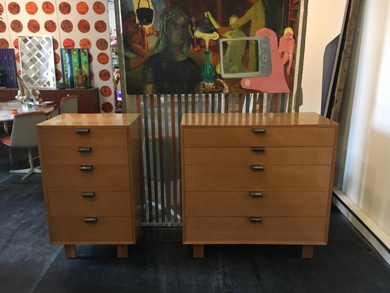 American George Nelson Dresser Pair for Herman Miller, 1948 For Sale