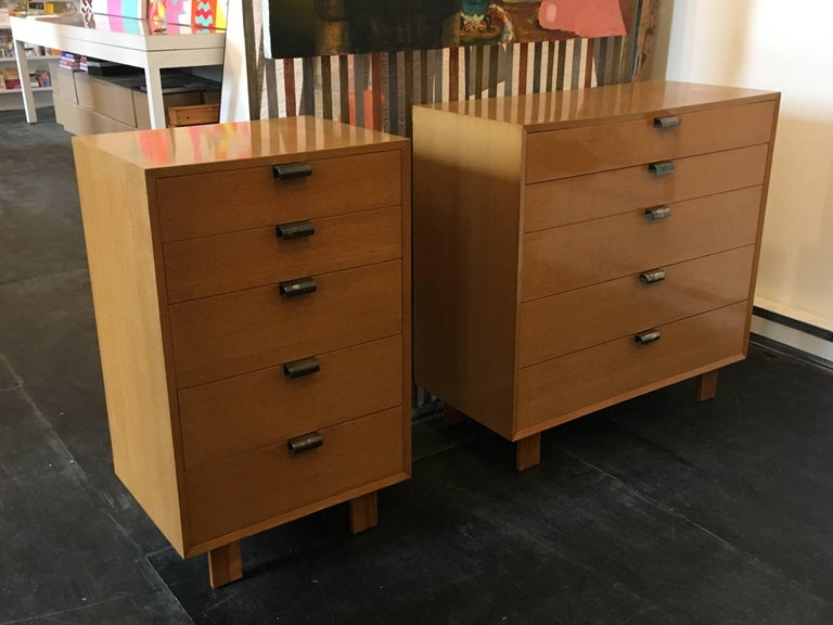 Mid-20th Century George Nelson Dresser Pair for Herman Miller, 1948 For Sale