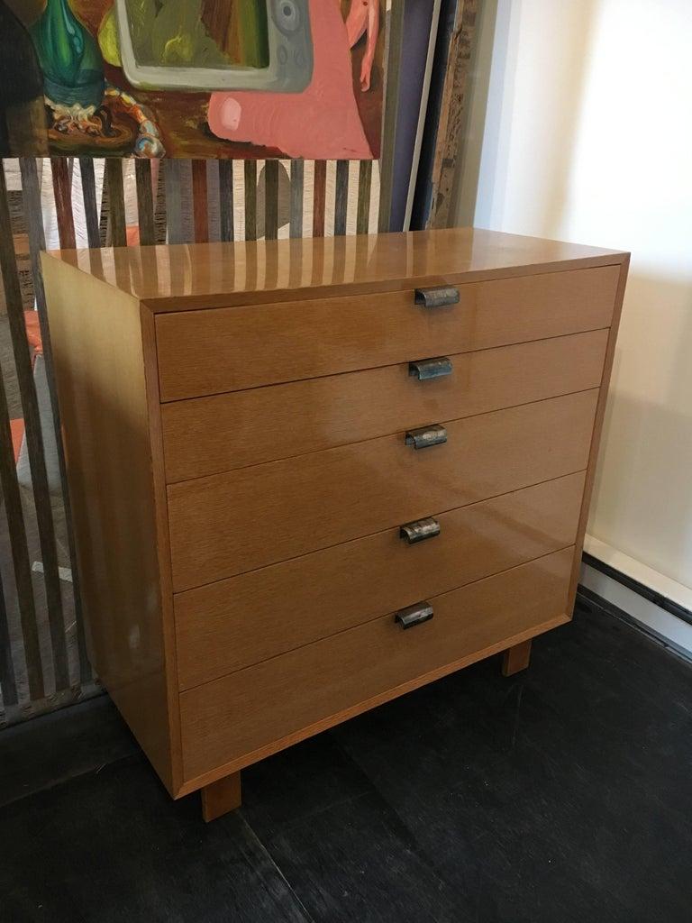 Oak George Nelson Dresser Pair for Herman Miller, 1948 For Sale