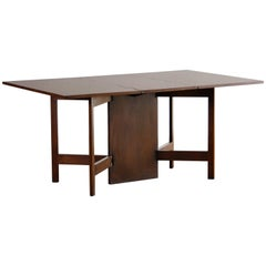 George Nelson Drop-Leaf Dining Table