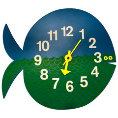 George Nelson Fernando the Fish Zoo Timers Wall Clock