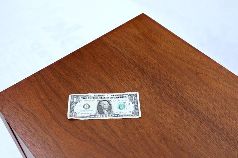 George Nelson for Herman Miller 4 Drawers Walnut Dresser Bachelor Chest Cabinet For Sale 4