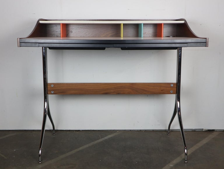 George Nelson for Herman Miller Chair and Swag Leg Desk 3