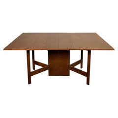 George Nelson for Herman Miller Drop Leaf Gate Fold Dining Table