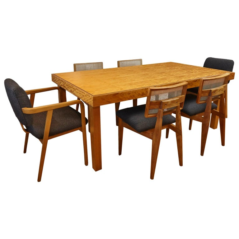 Herman Miller Extension Dining Table, Herman Miller Dining Room Chairs