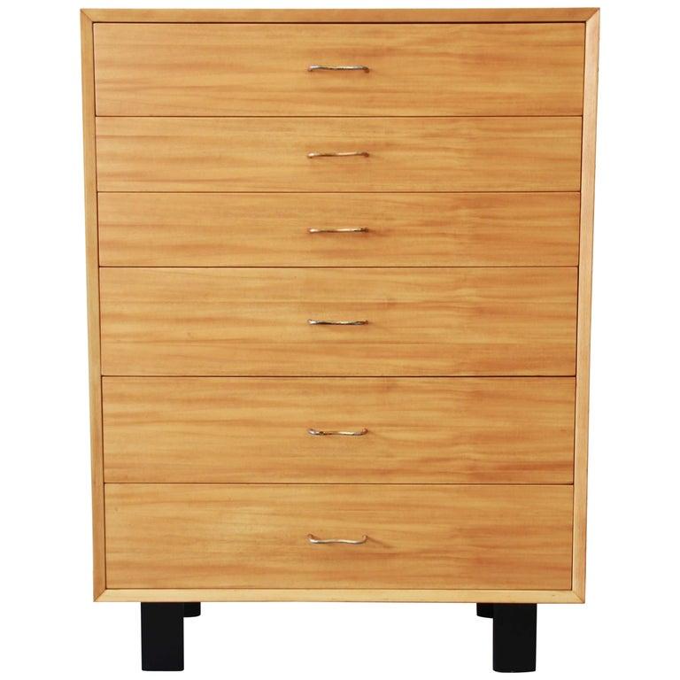 George Nelson for Herman Miller Highboy Dresser For Sale