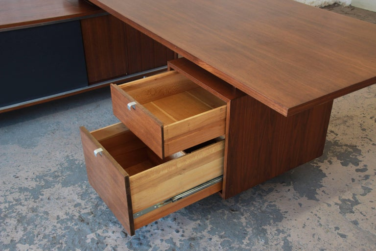 George Nelson for Herman Miller L-Shaped Executive Desk, 1950s For Sale 9
