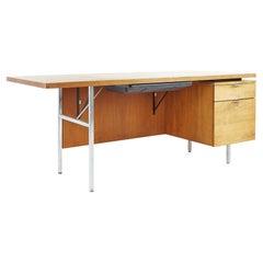 George Nelson for Herman Miller Mid Century Walnut Desk