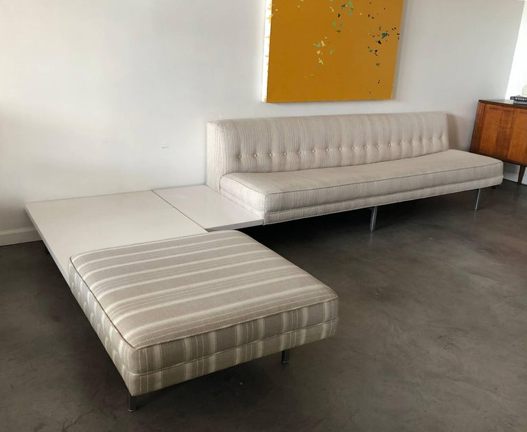 Mid-Century Modern George Nelson for Herman Miller Modular Sectional Sofa For Sale