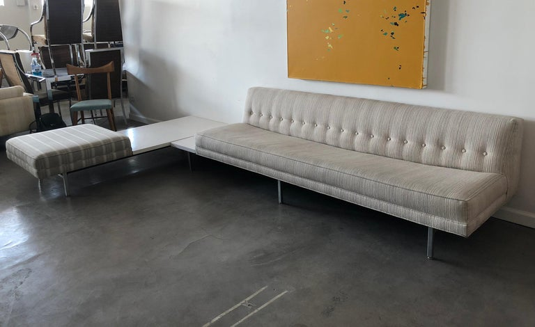 American George Nelson for Herman Miller Modular Sectional Sofa For Sale