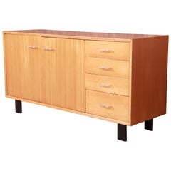 George Nelson for Herman Miller Primavera Wood Credenza, Newly Refinished