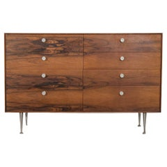George Nelson for Herman Miller Rosewood Thin Edge Group Dresser