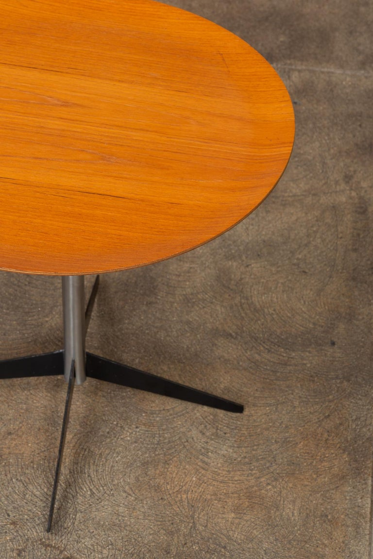 George Nelson for Herman Miller Round Side Table For Sale 2