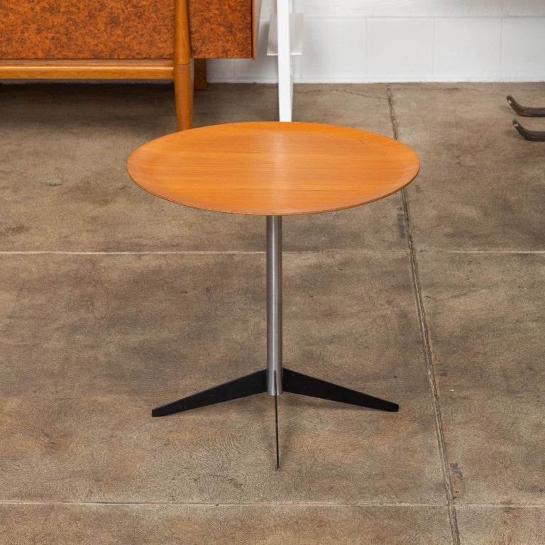 American George Nelson for Herman Miller Round Side Table For Sale