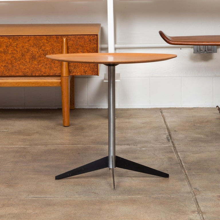 Enameled George Nelson for Herman Miller Round Side Table For Sale