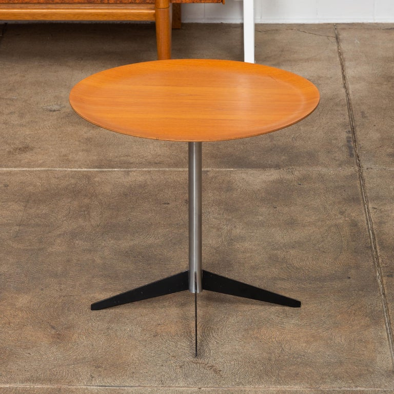 Mid-20th Century George Nelson for Herman Miller Round Side Table For Sale