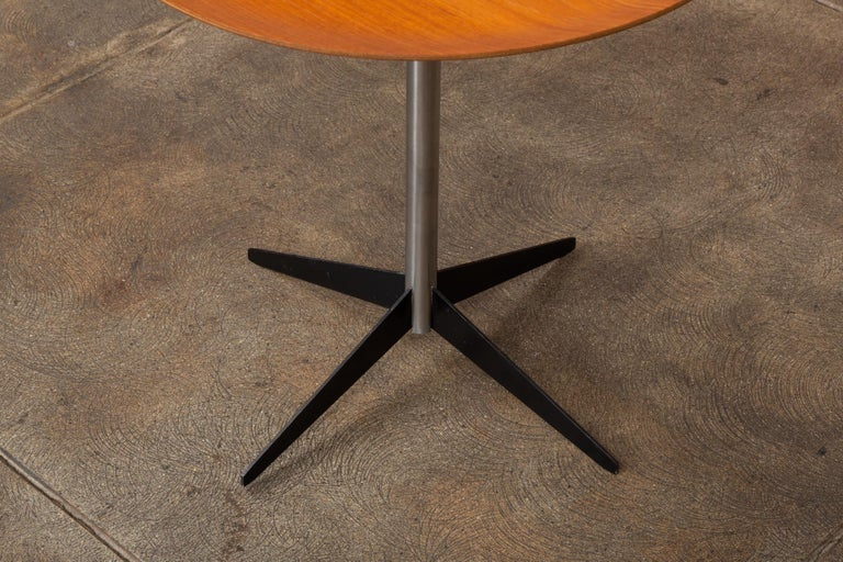 Metal George Nelson for Herman Miller Round Side Table For Sale