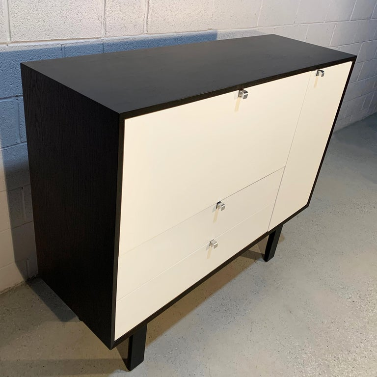 George Nelson for Herman Miller Secretary Cabinet In Good Condition For Sale In Brooklyn, NY