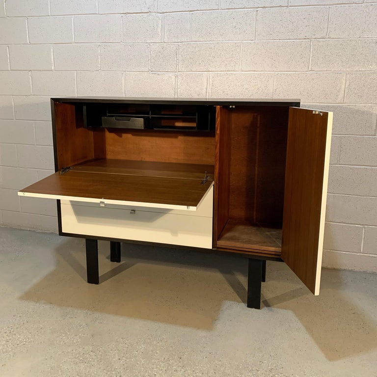 20th Century George Nelson for Herman Miller Secretary Cabinet For Sale